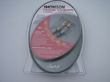 Thomson-KHC004 Cable 24K-Gold 2 RCA to 2 RCA (10m/32,8FT) NEW