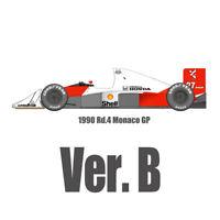 Model Factory Hiro K456 1:12 McLaren MP4/5B Ver.B 1990 Rd.4 Monaco GP MFH Kit