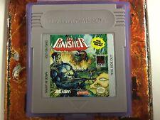 The Punisher Original Nintendo Gameboy Tested