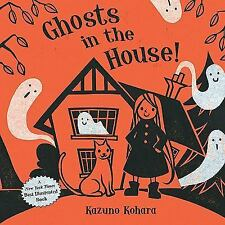 Ghosts in the House! picture story book kids Halloween Kohara illustration award