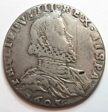 - ITALIE - MILAN - Philippe III d'Espagne - 100 Soldi - 1605 -
