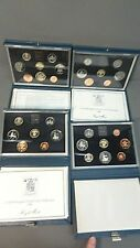 New Listing4 British Proof Coin Sets 1984-1987