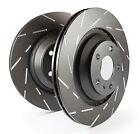 EBC Ultimax Rear Solid Brake Discs for MG ZT-T 2.5 (160 BHP) (2002 > 05)