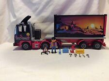 Playmobil Geobra Vintage #3817 Sunset Express Semi Truck Tractor Trailer