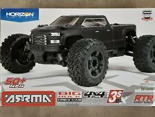Arrma Big Rock 4X4 V3 3S BLX 1/10 RTR Brushless Monster Truck Blk ARA4312V3 New!