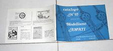 AMATI MODELLISMO Catalogo n. 95 Anni 70 OTTIMO Torino