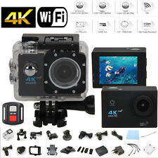 Ultra HD 4K WIFI Sport Action Camera Waterproof DV Camcorder with Remote Control