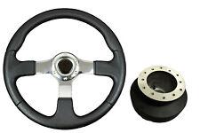 F2 CHROME Sports Steering Wheel + Boss Kit for BMW E90 E91 E92 E93 063
