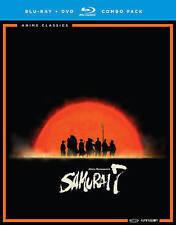 Samurai 7 The Complete Series Blu-ray Disc, 2016 Akira Kurosawas NO Slipcover