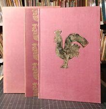 Edmund Dulac, Alexander Pushkin GOLDEN COCKEREL Signed Limited Edition 1950