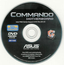 ASUS COMMANDO Motherboard Drivers Installation Disk M1168