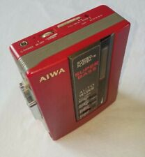 AIWA Walkman Stereo Cassette Player HS-G34 Auto Reverse Graphic Equalizer