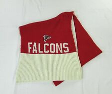 Atlanta Falcons Knit Scarf with Embroidered Logo Patch