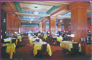 Vintage Salt Lake City Utah Hotel Coffee Shop Postcard Joseph Smith Memorial Bld
