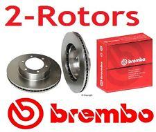 2-Brembo Rotors 25534  Sequoia 2001-2007 , Tundra 2000-10/2006  Free Shipping