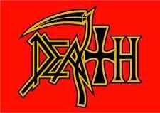 "Death Band Metal Music Car Bumper Window Sticker Decal 5""X4"""