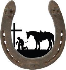 Prayin cowboy decal