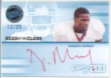 demarco murray rookie draft auto autograph cowboys sooners ou red ink college 25