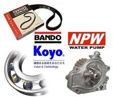 BANDO TIMING BELT + KOYO TENSIONER + NPW WATER PUMP - HONDA CIVIC 1.8 VTi B18C4
