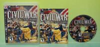 History Civil War Secret Missions - Sony PlayStation 3 PS3  Game Works Complete