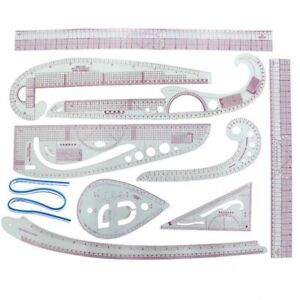 Ruler Sewing Tools Tailor Measuring Kit Drawing Sleeve Arm French Curve Cutting