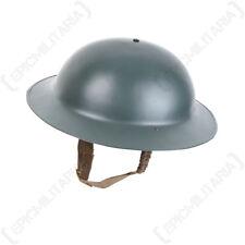 WW2 British Brodie Helmet - Repro Reenacting Military Soldier Uniform NEW