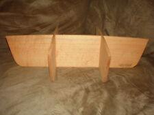 Longaberger Medium Gathering Basket 6-Way WoodCrafts Divider- Classic Stain