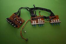 Braun Atelier Receiver R1-Ersatzteil-Schalter-und Anschlüsse-Leiterplatten