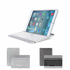 Aluminum Bluetooth Wireless Keyboard Cover Case For iPad 4 3 2 mini Air 2 1 Pro