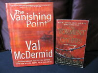 Val McDermid - Vanishing Point and Torment of Others - Incl. Shipping!!