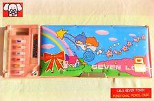🌟 VINTAGE 1980 GOOD FAKE Sanrio Little Twin Stars Magnetic Pencil Case Astuccio