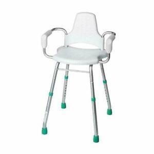 Croydex Large White Adjustable Shower Stool