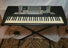 Yamaha PSR-550 61-Key Keyboard, Includes Floppy Disk Drive, Stand, Power Cord,