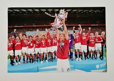 "Nemanja Vidic signed 18x12"" Manchester United photo / COA"