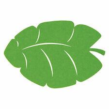 Palm Leaf Felt Placemats - Party Supplies - 4 Pieces