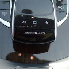 10er AMG 10x Emblem Mercedes Benz Logo Aufkleber Sticker Alu hochglanz 10Stück