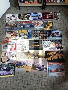 Lot Of Indycar / Cart Driver Postcards