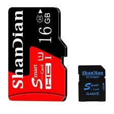 16GB Micro SD Card With Free Adapter  For Mobile Phone SD Memory Cards