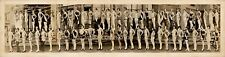 "1926 Atlantic City Bathing Beauties Vintage Panoramic Photograph 33"" Long"