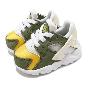Nike Huarache Run LE QS TD Stussy Dark Olive 2021 Toddler Infant DH3323-300