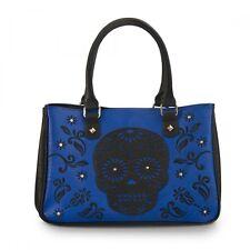 Loungefly Laser Cut Skull Punk Goth Tattoo Rock Tote Bag Handbag Purse LFTB0537