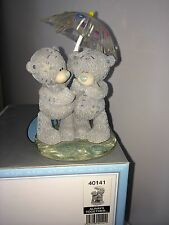 "LARGE 14cm 5.5"" HIGH BOXED ME TO YOU FIGURINE TATTY TEDDY BEAR ~ ALWAYS TOGETHER"