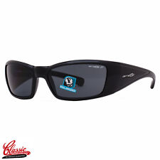 ARNETTE SUNGLASSES RAGE XL 4077 01/81 Gloss Black Frame POLARIZED