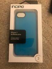 Incipio Iphone 7 & Iphone 6/6s Flexible Impact Resistant Case Blue