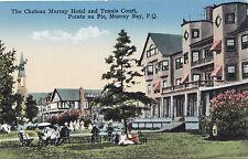 Chateau Murray Hotel Pointe au Pic MURRAY BAY Quebec Canada 1920-30s Novelty Mfg