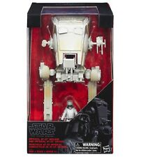 """AT-ST WALKER BLACK SERIES star wars exclusive 3.75"""" new EXCLUSIVE sealed at st"""