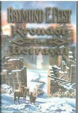 Raymond E Feist KRONDOR THE BETRAYAL HB DJ 1998,BK 1 RIFTWAR