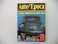 AUTO D'EPOCA 1/2005 FIAT 600/8V/ABARTH SE 033/CROSLEY HOT SHOT 750/PHIL HILL