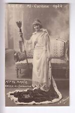 CPA  CAEN 14 -  MADEMOISELLE MARIE REINE DU COMMERCE AGEC MI CAREME 1922 ~C56