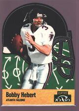 BOBBY HEBERT ATLANTA FALCONS DIE CUT HELMET SP 1996 PLAYOFF PRIME X'S AND O'S